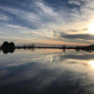 Cielo y agua. #nueno #lavirgendelolivar #ermita #MirAragon #aragon  Foto gracias a @aaron.vivir.pacontarlo
