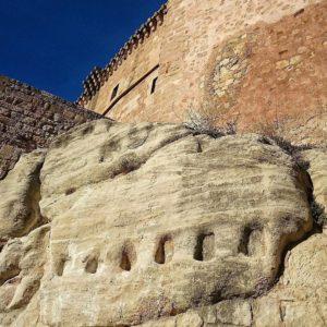 Localización: Castillo - Palacio de Los Fernández Heredia. Mora de Rubielos. Gúdar-Javalambre. #Teruel  #castello #palacio #miraragon #medieval #arquitectura  Foto gracias a @siltaviana