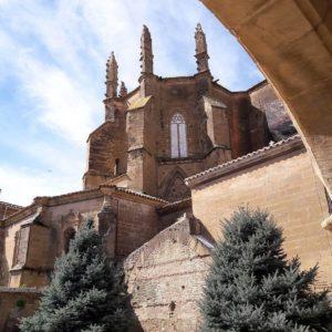 ¡Hola Huesca!  #huesca #aragón #catedral #spain #casabiescas #miraragon #hermosa #ciudad  Foto gracias a @mojsoski93
