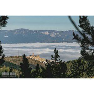 Niebla en Sos del Rey Católico,  #sosdelreycatolico #aragon #nature #paisajesdeespaña #MirAragon #casabiescas  Foto gracias a @roberto_bondia
