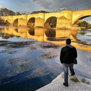 Puente de Piedra  #MirAragon #puente #zaragoza  Foto gracias a @carmaraiz