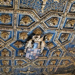 Techumbre mudéjar palacio Reyes Católicos  #aljaferia #palacioaljaferia #miraragon #mudejar #zaragoza  Foto gracias a @carlosgpo #repost