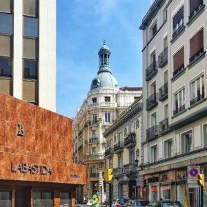 Zaragoza. En la esquina la joyeria Labastida.  #zaragoza #miraragon #aragon  Foto gracias a @blackban #repost