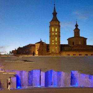 Plaza del Pilar todo un espectáculo  #zaragoza #aragon #spain #turismo #descubrir #historia #nature #europe #miraragon  Foto gracias a  @iloarte #repost