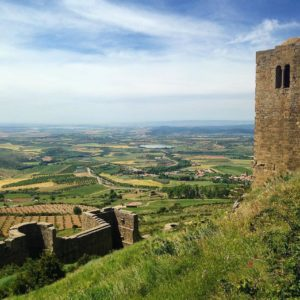 Que belleza Loarre Castillo , Spain.  #varyiberia #travelguide #loarre #castle #castillo #chateau #aragon #paisaje #countryside #tower #torre #spain #europe #iberia #sky #outlook #vista #turismospain #ok_spain #world_spain #hill  #farming  #igersvalledetena #igersordesa #igersguara #igersformigal #miraragon #rinconesdelpirineo #descubre  Foto gracias a  @vary_iberia #repost