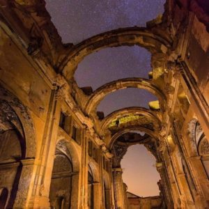 Recorrer estos muros de historia con una noche mágica. . . #belchite #belchiteviejo #igers #igersspain #igerszaragoza #miraragon #igersaragon #aragon #photographer #photo #photography #arquitetura #architecture #largaexposicion #longexposure #longexposition #star #nightphotography_exclusive  #noche #estrellas #igerseurope  Foto gracias a Repost @remeimontagut