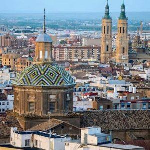 Zaragoza desde las alturas. ? ? ? ?? Gracias @dcamposlaguna por su preciosa foto y por etiquetarnos. Os invitamos a visitar su galería. ? ? ? ?? Síguenos y etiqueta tus fotos con el hashtag @MirAragon . . . · ? ? ? ?? Zaragoza ? ? #aragon  #Zaragoza  #miraragon  #Aragón  #España  #casabiescas #basilicadelpilar  #architecture  #street  #viaje #travel #trip #facade  #elpilar #arquitectura #tesorosdearagon #visitspain #wanderlust #photography #hike #naturaleza #instagood  #nature #streetphotography #instagood #tourism #turismo #senderismo  #spain #capture